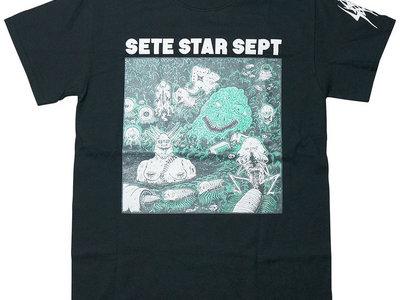 "T-shirt ""Beast World - B"" - Black main photo"