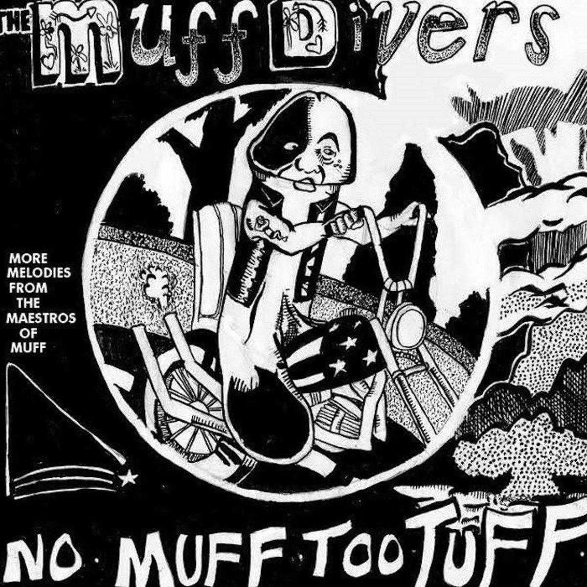 Black muff divers