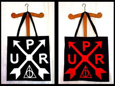 Organic Cotton Tote Bag with UPR logo 43 x 43 cm main photo