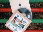 Home dubbed recycled lo-fi limited 7'' reel-to-reel tapes photo