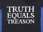 Truth Equals Treason patch (logo) photo