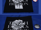 Truth Equals Treason fist logo patch & badge package (1 x patch & 1 x badge) photo