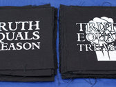 The Truth Equals Treason 'full monty' package (2 x patches & 6 x badges) photo