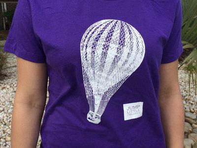 Ladies/Girls Fit Purple Balloon Tee main photo