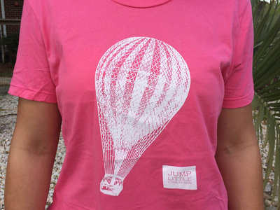Ladies/Girls Fit Pink Balloon Tee main photo