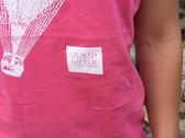 Ladies/Girls Fit Pink Balloon Tee photo
