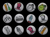 BUTTONS & STICKERS photo