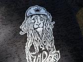 """J Ras x Most Funky Click """"Dread Lion"""" Ladies Burnout T Shirt photo"""