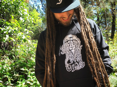 "J Ras x Most Funky Click ""Dread Lion"" Hoodie main photo"