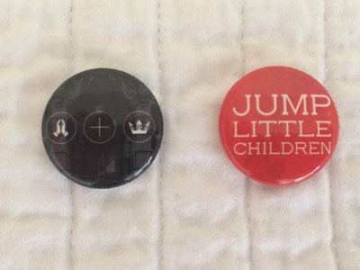ON SALE!!!! ADD ON ONLY! Button Pack (2 in a pack) from JLC's Church & Queen Tour- Reunion 2015 main photo