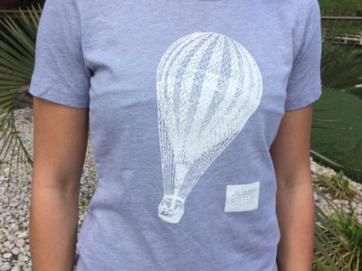 Ladies/Girls Fit Grey Balloon Tee main photo