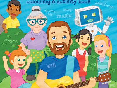 Wordplay Colouring & Activity Book main photo