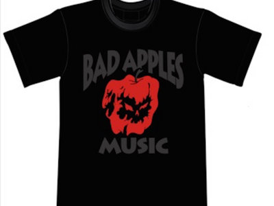Bad Apples Music logo t-shirt main photo