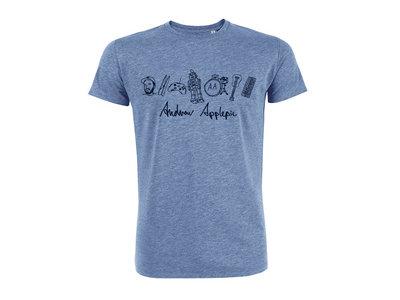 Organic T-Shirt - Mid Heather Blue main photo