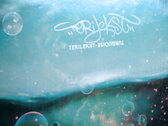 "TERILEKST - Turquoise 12"" signed! photo"