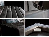 3 canvas prints 'Dust' 40x40cm each photo