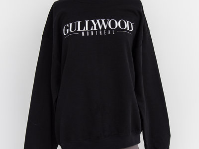 Crewneck Gullywood - Black main photo