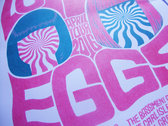 The Lovely Eggs - April 2016 Tour (A3 Riso Print) photo