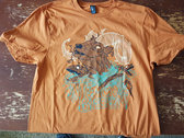 Goat Tree Shirt (Brown/Orange) photo