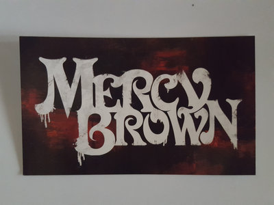 Mercy Brown Stickers main photo