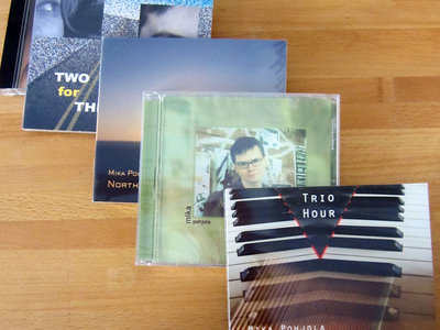 A Bundle of 5 CDs + 1 Download of New York Jazz by Mika Pohjola main photo