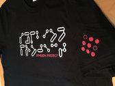 Black T-shirt w/Silver Braille Logo + Free FreQ/Amp album! photo