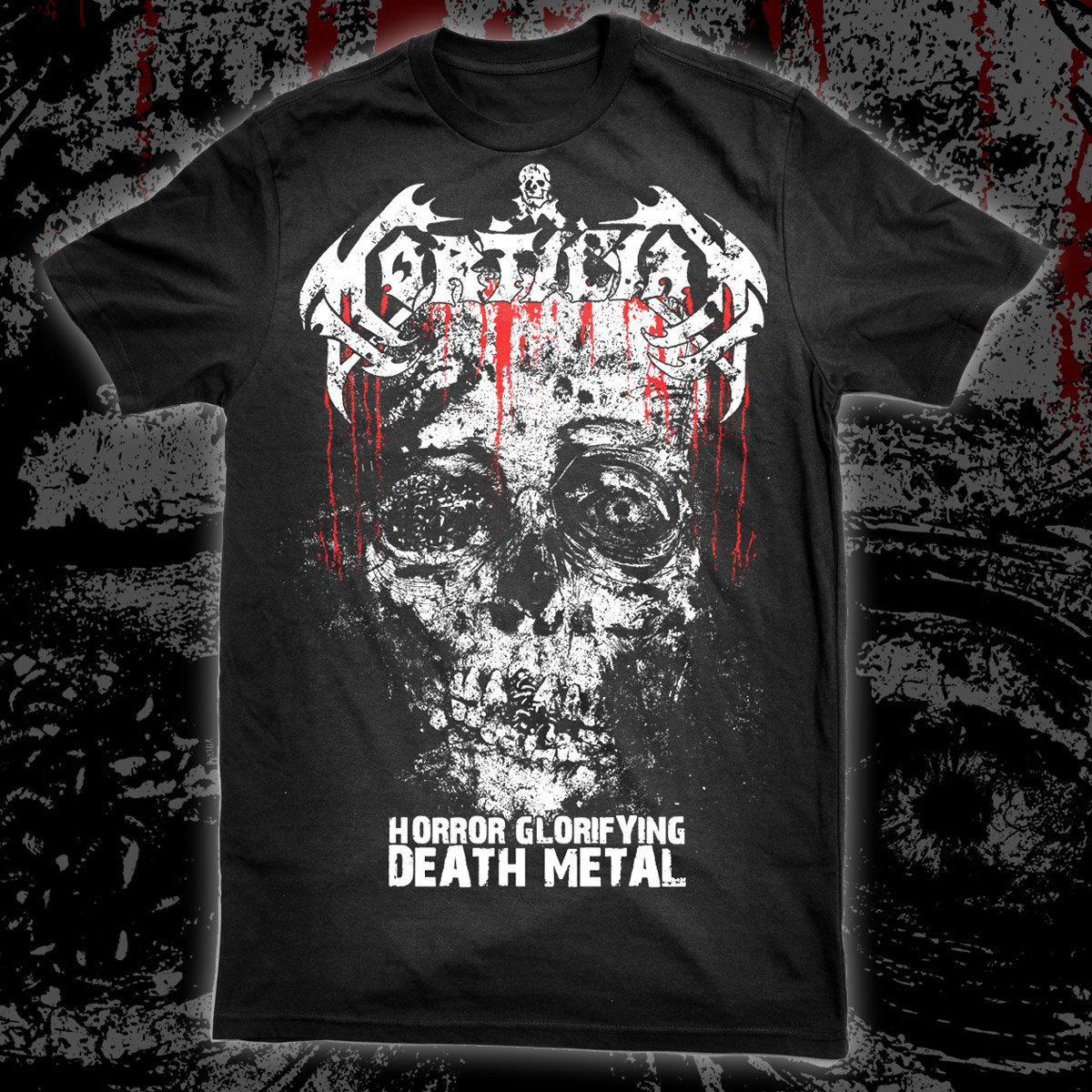 MORTICIAN Horror Glorifying Death Metal T SHIRT Main Photo