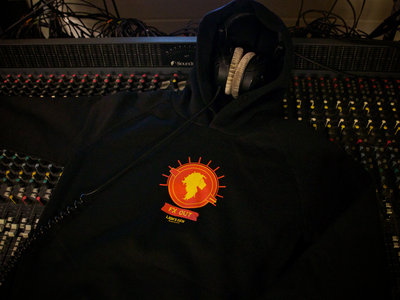 Lion's Den - hoodie - black main photo