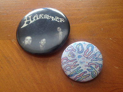 Harpooner - Pair of Psychedelic Buttons main photo