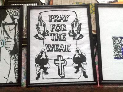 CHICAGO/worldwide, Pray For The Weak, 100DOD Framed Print Pack main photo