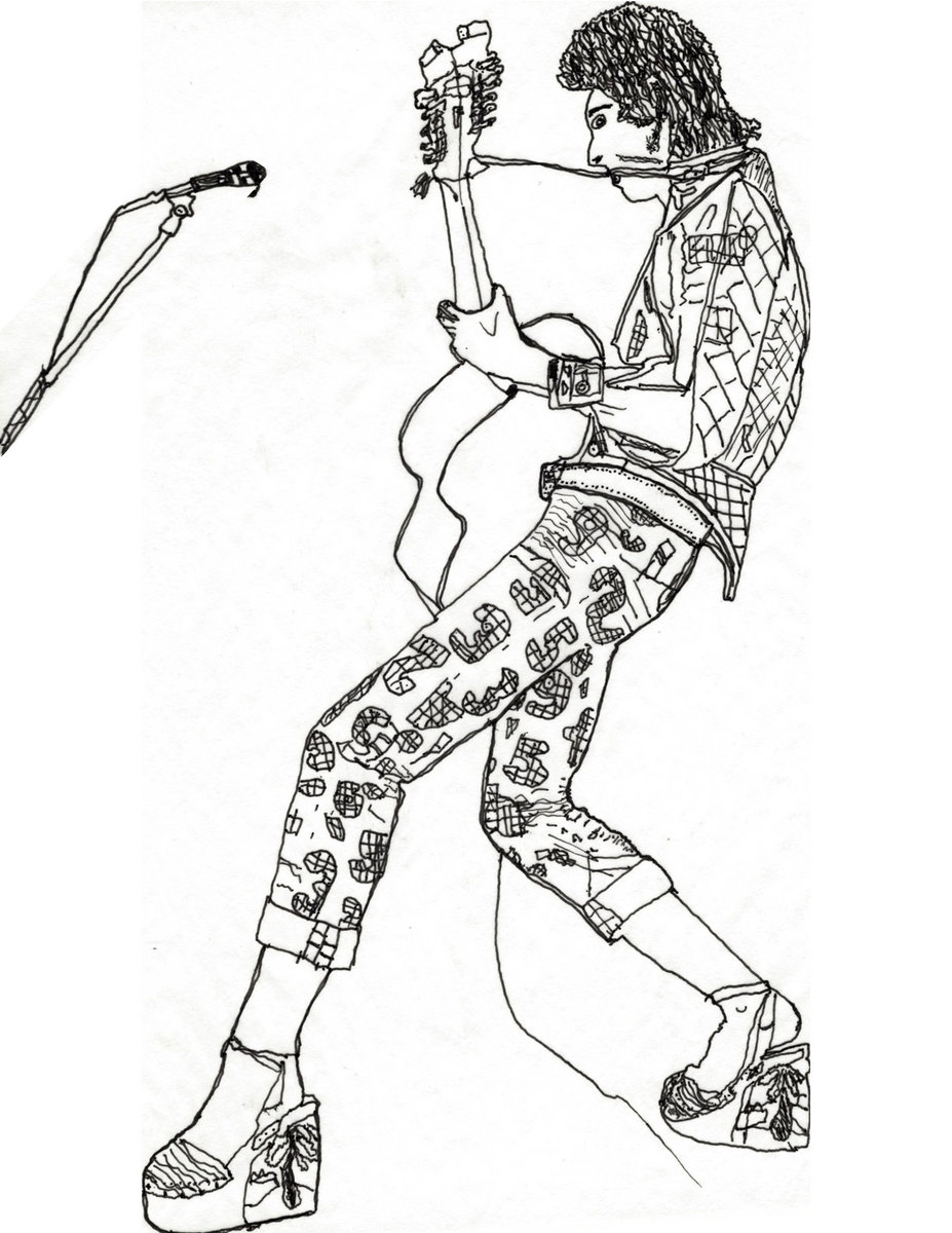 David Bowie Coloring Book Zine D Out Of 30 2nd Edition