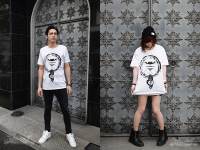 Decadenshirt「眼國」-白式(white) main photo