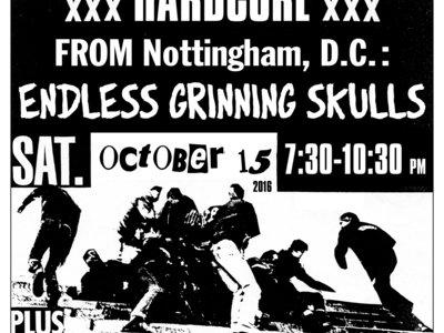 Ripcord Reunion E-Ticket w/ Endless Grinning Skulls + Violent Arrest main photo