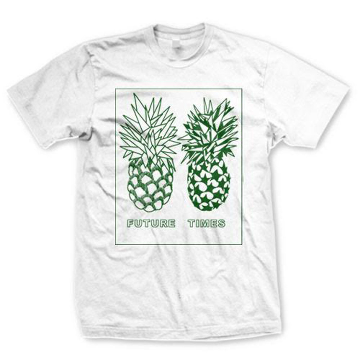 e61865a30aa9 T-Shirt/Apparel. FUTURE TIMES PINEAPPLE TEE - WHITE main photo