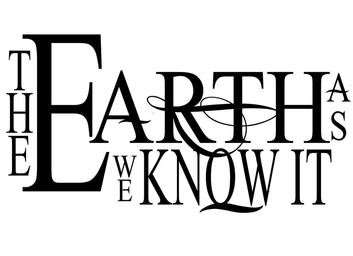 Line Art Earth : Efflorece the earth as we know it