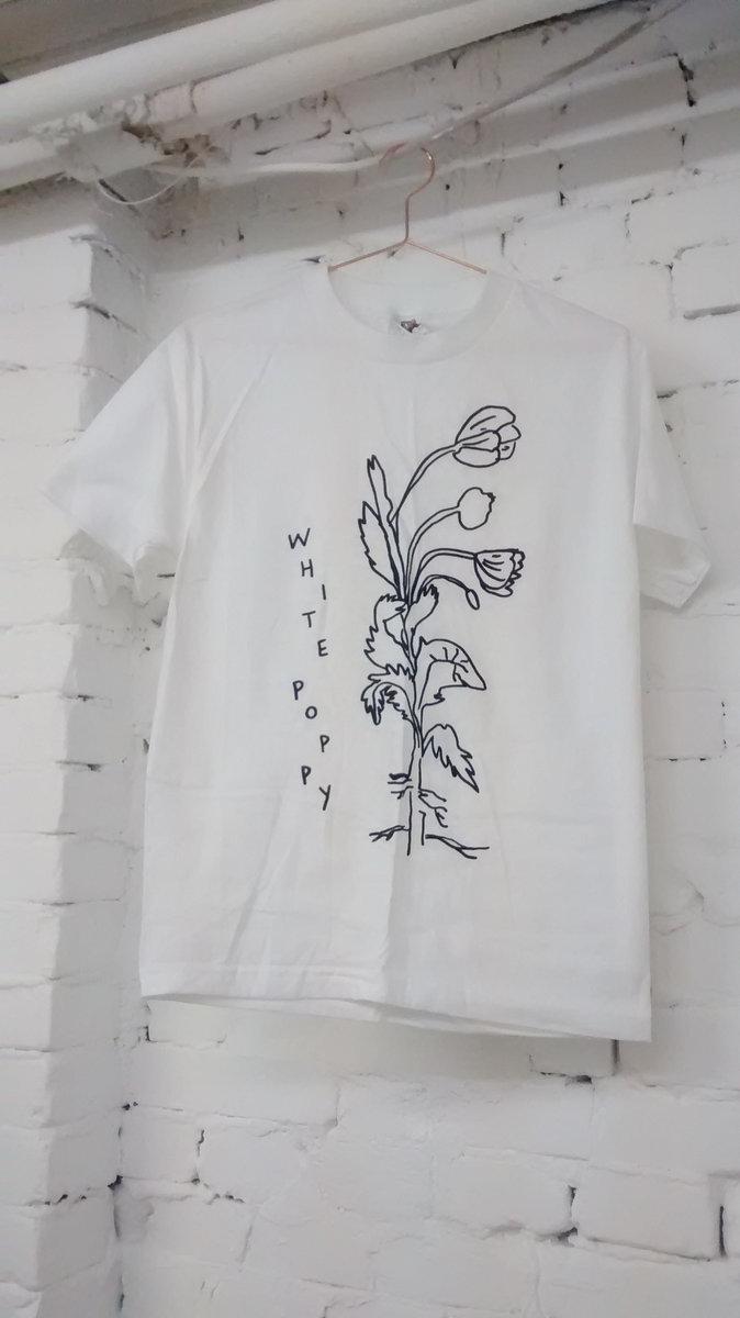 White poppy flower t shirt white poppy white poppy flower t shirt main photo mightylinksfo