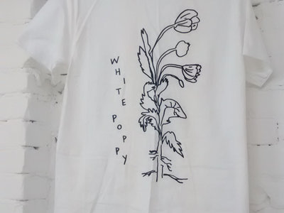 "White Poppy ""Flower"" T-shirt main photo"