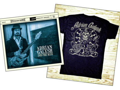 Into The Blue Signed CD and T-Shirt main photo