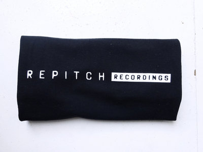 [MERCH] Repitch Recordings Logo T-Shirt - Black - White Printing (HQ) main photo