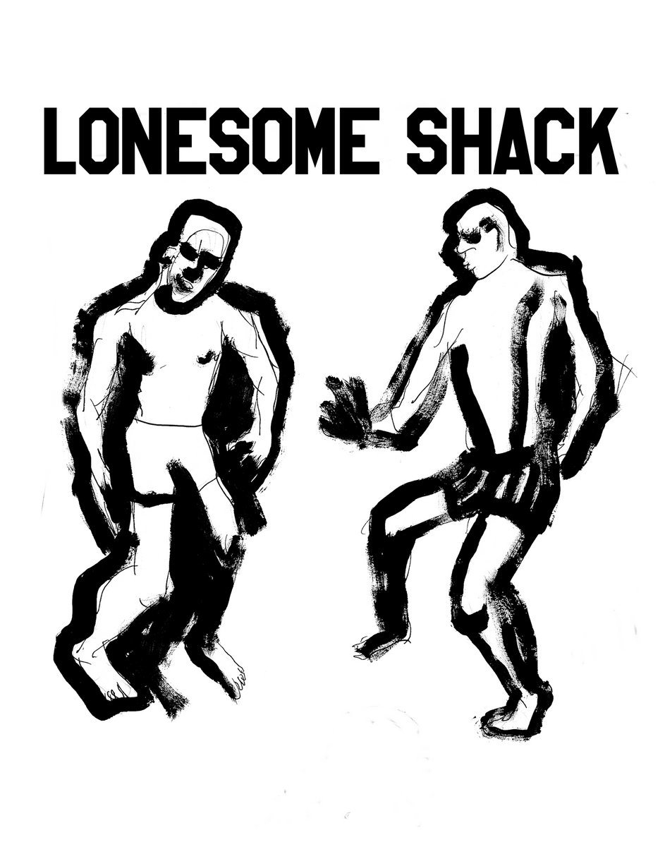 lonesome shack Double Vision Album Cover limited edition double lp