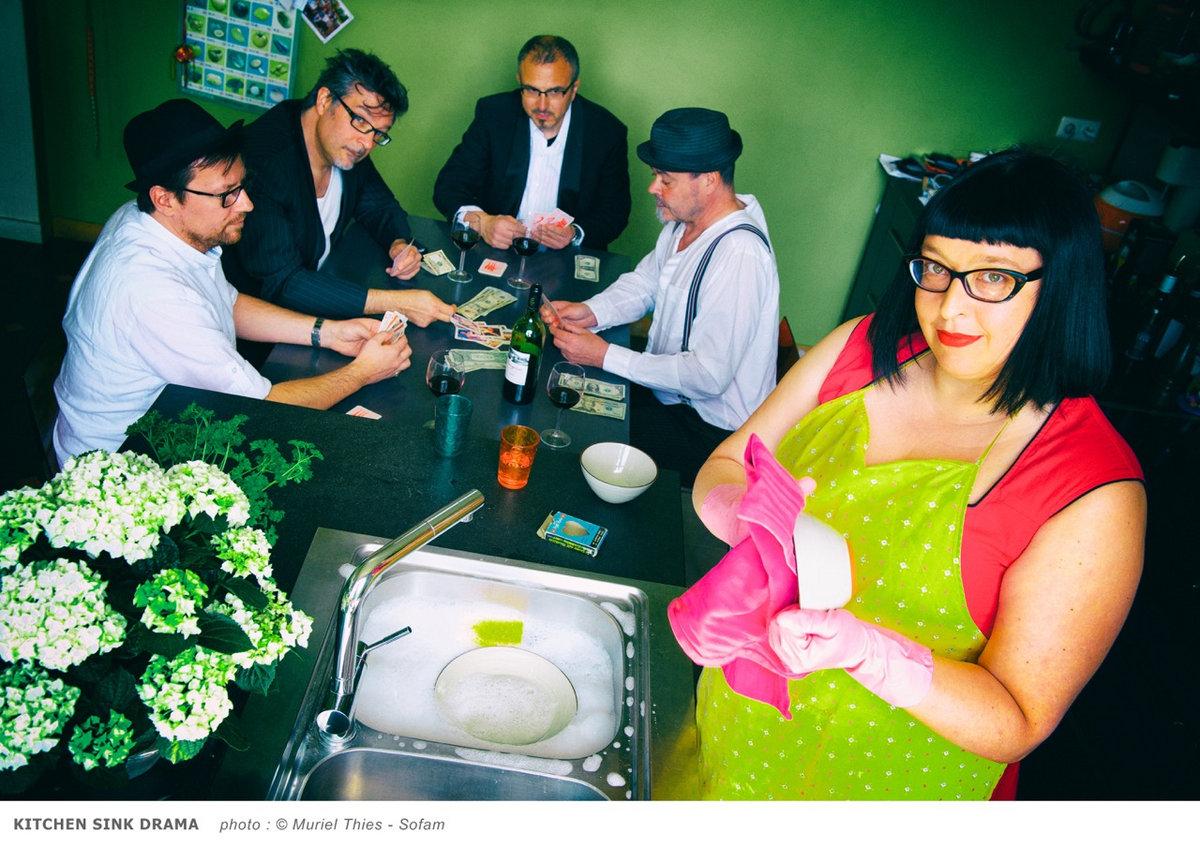 the kitchen sink drama image. beautiful ideas. Home Design Ideas