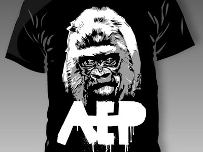 LAST CHANCE - APE Black Tshirt main photo