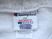 Authentic Daupe / Champion Limited edition Hoodie GREY 1/100 (PRE ORDER expected Early June) photo