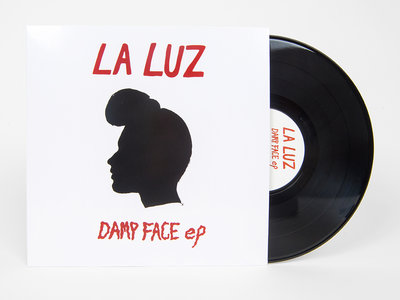 "Damp Face EP on 10"" Black Vinyl main photo"