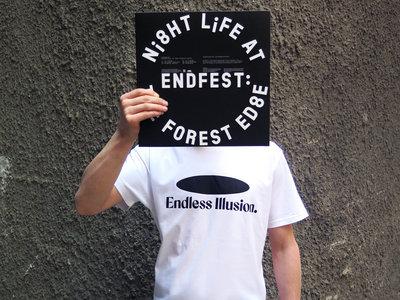Endless Illusion T-Shirt logo - white main photo