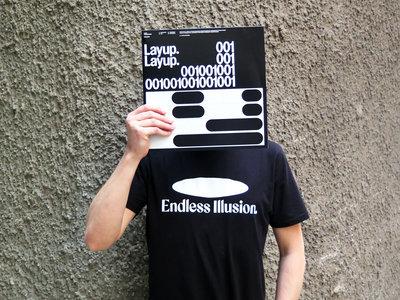Endless Illusion T-Shirt logo - black main photo