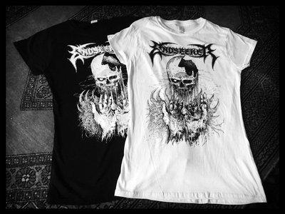 "+++ NEW +++ GIRLIE SHIRTS - ""Corrosive Revelation"" - Black and White main photo"