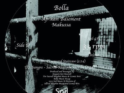 "Bolla - Afrikan Basement - 12"" Vinyl Part 2 main photo"