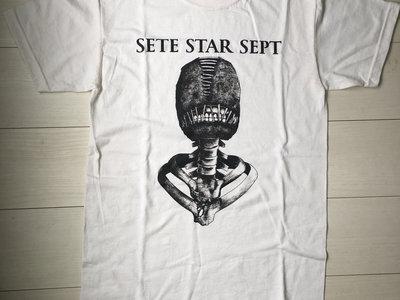 """""""Torture Machine"""" T-shirt - White main photo"""