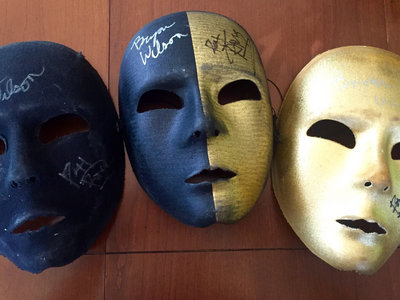 Signed Black and Gold Mask Set! (1 of 1) main photo
